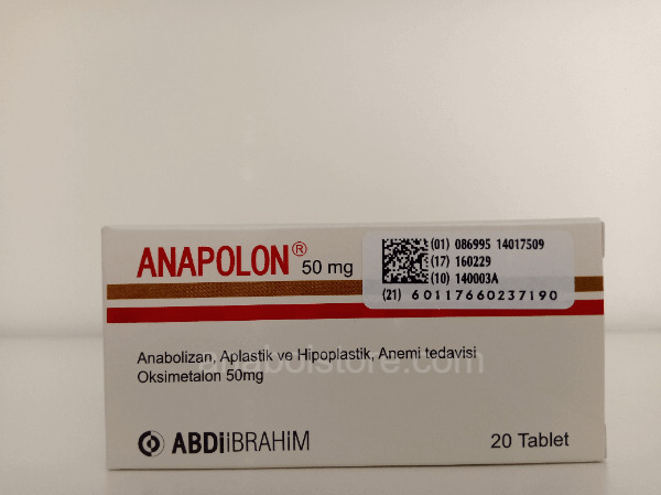 achater Anapolon turque 50mg